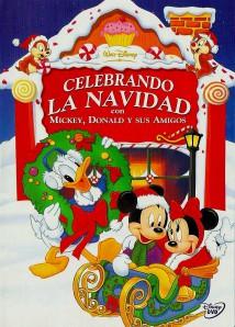 Celebrando la navidad con Mickey